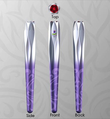 2010 Youth Olympic Games Torch